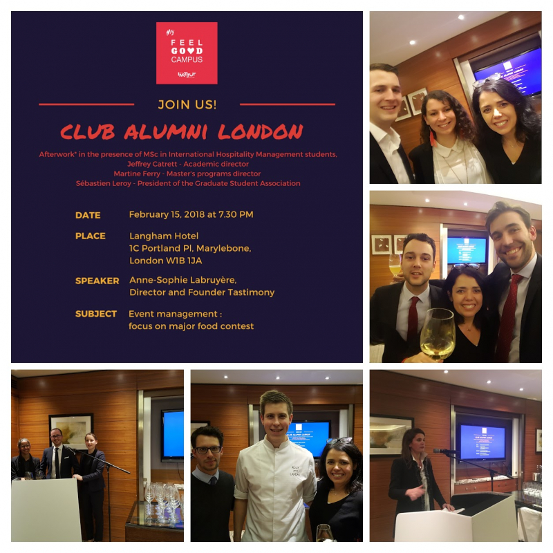 CLUB ALUMNI LONDON – What a wonderful evening!